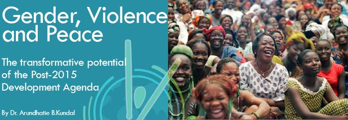 Gender, Violence and Peace