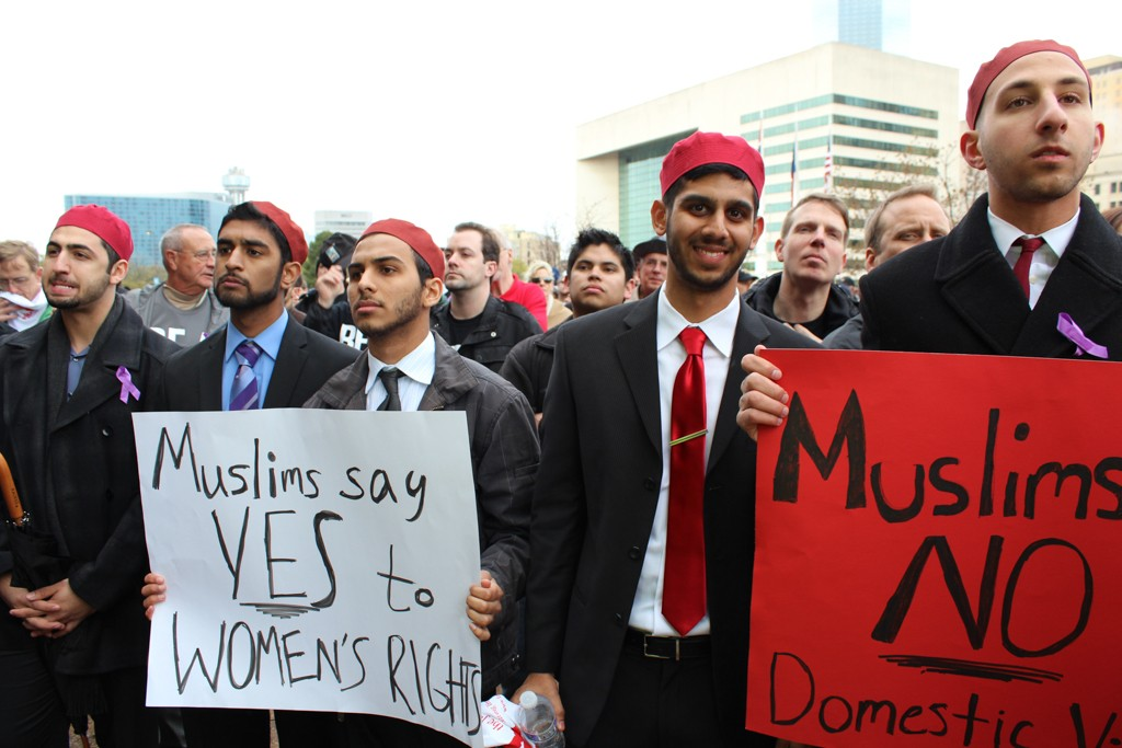 Muslims against domestic violence
